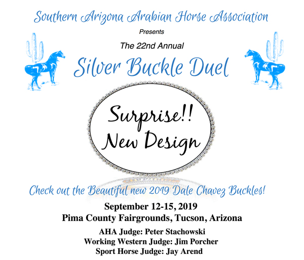 2019silver buckle duel