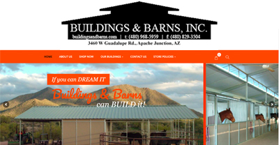 buildings and barns